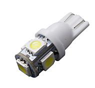 50 pezzi super white cuneo t10 5-SMD 5050 ha condotto la luce delle lampadine W5W 2825 158 192 168 194
