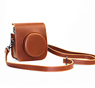 PU Leather Mini Camera Case for Fujifilm Instax Mini 70 with Detachable Shoulder Strap