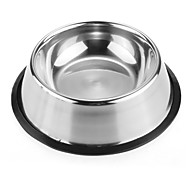 FUN OF PETS® High-Quality Stainless Steel Antiskid Feeding Bowl for Pets Dogs (Assorted Sizes)