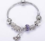 Fashion Jewelry Bracelets&brangle Glass European Beads bracelets for Women  Strand Beads bracelets BLH7256 Christmas Gifts