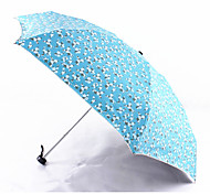 Small Suihua Black Plastic Uv Sunscreen Half Off Mini Umbrella Umbrella