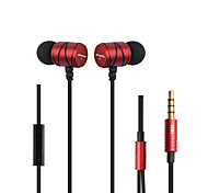 Awei Q5i Stereo Earphones 3.5mm In-Ear Earbuds HIFI Bass Headset With Micphone For Universal Smartphone