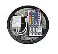 z®zdm 5m 150x5050 smd rgb führte Streifenlicht ip20 mit 44key Fernsteuerung (12 V DC)