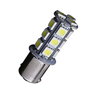 2 X White 1156 BA15S 18-SMD 5050 LED Light bulbs Turn Signal Backup Reverse