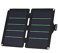 11W 5V Ultralight High Efficiency Solar Panel Charger for iPhone 6S Samsung Xiaomi Huawei(SWE11U)