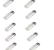 4 E26/E27 LED лампы типа Корн T 56 SMD 5730 240 lm Тёплый белый Декоративная AC 220-240 V 10 шт.
