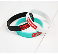 Silicone Sports Bracelet for Women/Men