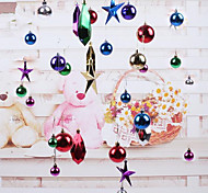 Christmas Decorations Christmas Ball Ornaments Pentagram Lob Hotel Window 96