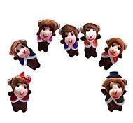 Мягкие игрушки Обезьяна Мультяшная тематика Необычные игрушки Мальчики / Девочки Текстиль