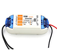 AC 90~240V 0.62A to DC 12V 2A 28W LED Power Driver - White + Orange