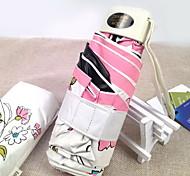il nuovo mezzo ultraleggero dei freschi ombrelloni fiori in vinile UV protezione solare di sole traslucido ombrello UPF50 + 0