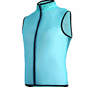 Bike/Cycling Windbreakers Unisex Sleeveless Dust Proof / Windproof / Sunscreen 100% Polyester Classic Green / Blue
