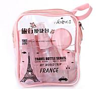 Embalagens para Cosméticos Plastic 8 Others / Tamanho para viagem Azul / Roxa / Rosa