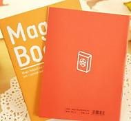 A6 Car Line Notebook Soft Manuscripts Book for Students(Random Colors)