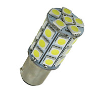 10 PC super weißes ba15d 27-SMD 5050 LED-Lampen Marine 1142 1178 1130