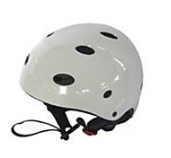 helmet One Size Adjustable Snow Sports White ABS
