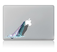 Dolphin Decorative Skin Sticker for MacBook Air/Pro/Pro with Retina