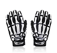Skull Appearance Mountain Bike Full Finger Touch Gloves