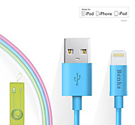 Benks Apple Approved 2.4A Fast Charging MFi Cable For iPhone 7 6s 6 Plus SE 5s 5c 5