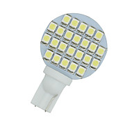10 X Cool White T10 Wedge 24-SMD RV Landscaping LED Light bulbs W5W 921 168 194