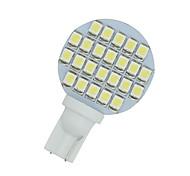 10 x freddo bianco cuneo t10 24-SMD paesaggio rv ha condotto la luce delle lampadine W5W 921 168 194