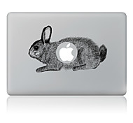 The Rabbit Decorative Skin Sticker for MacBook Air/Pro/Pro with Retina