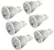 5 GU10 LED Spot Lampen MR16 5 Hochleistungs - LED 500 lm Kühles Weiß Dekorativ AC 85-265 V 6 Stück