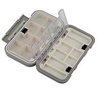 Anmuka Caixas de Pesca Caixa de Derrube Impermeável / Multifunções 1 Bandeja 16*9*4.5 Plástico