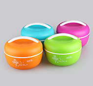 Yooyee BPA Free Microwave Bento Box Lunch Bowl with Handle