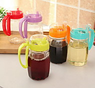 1 Cucina Cucina Plastica / Vetro Dispenser olio 8*10*17cm