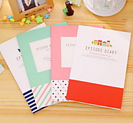 Small Pure And Fresh And Car Suture Notebook Series