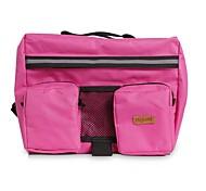 Dog Dog Pack Pet Carrier Portable Black Pink Nylon