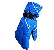 Ski Gloves Winter Gloves Unisex Activity/ Sports Gloves Keep Warm / Waterproof / Windproof Gloves Ski & Snowboard Canvas Ski GlovesRed /
