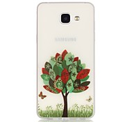 Trees TPU Material Glow in the Dark Soft Phone Case for Samsung Galaxy A310/A510(2016)