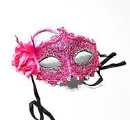 Хэллоуин костюма партии кружева маски случайный цвет
