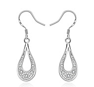 Women's Gorgeous Simple 925 Silver Plated Earrings