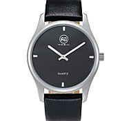 AIBI® Men's Fashion Watch Water Resistant/Water Proof Charles Florida Black Silver Wrist Watch For Men Cool Watch Unique Watch With Watch Box