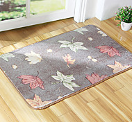 "Country Style 1PC Polyester Thickening Bath Rug 15"" by 23"""