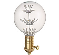 youoklight g80 e27 3W 220v decorativo lâmpada e combinação de suporte da lâmpada de venda.