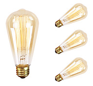 GMY 4PC ST64 13Molybdenum wire Vintage bulb 60W E26 AC120V Decorate Bulb