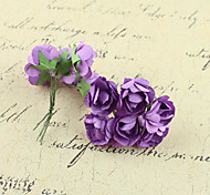 Glass Accessories Azaleas Paper Flowers Handmade Diy Accessories Materials Wreath
