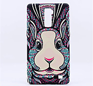 New Style Fluorescent Noctilucent 3D cute Cartoon Animal world Rabbit Phone Case Cover For OPPO R9 Plus R9  R7