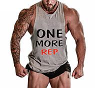 Running Tops / Vest / Shirt / Sweatshirt / Tank Men's SleevelessBreathable /  Sweat-wicking / Softness/ Held-In