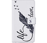 PU Leather Material 8 Word Feather Pattern Phone Case for Samsung Galaxy S7 Edge/S7/S6 Edge Plus/S6 Edge/S6/S5