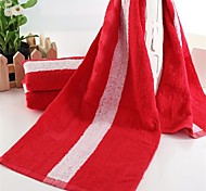 "1 PC Full Cotton Yoga Towel Sport Towel 13"" by 43"" Super Soft"