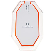 New 3 Induction Coil Qi Wireless Charger Charging Pad for iPhone Samsung HTC LG Android Phone