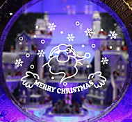 Christmas Window Sticker Contemporary , Art Deco 35*57CM