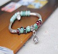 China china Silver Ceremic Strand Beads Bracelet