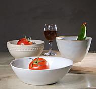tigela de cerâmica utensílios de mesa