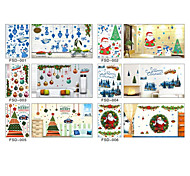 Christmas Window Stickers Wall Stickers Window Christmas Window Decoration Pvc
